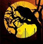 The Halloween of Edgar Poe Raven
